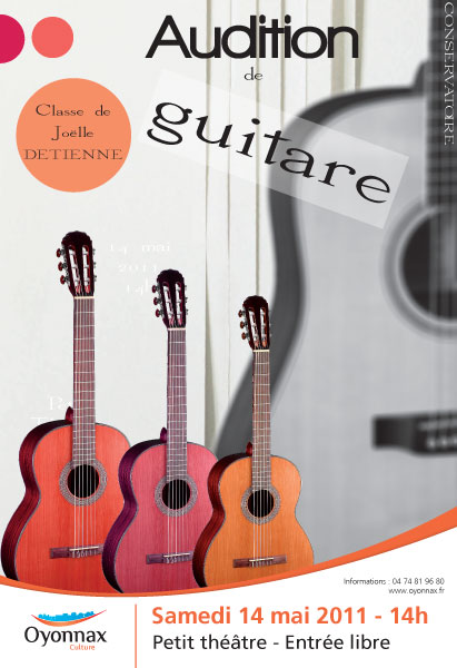 Audition de Guitare